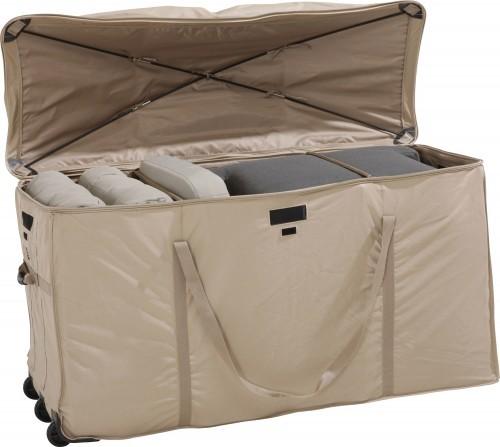 die kissenbox von 4 seasons outdoor ist der perfekte aufbewahrungsort f r ihre sitzkissen und. Black Bedroom Furniture Sets. Home Design Ideas