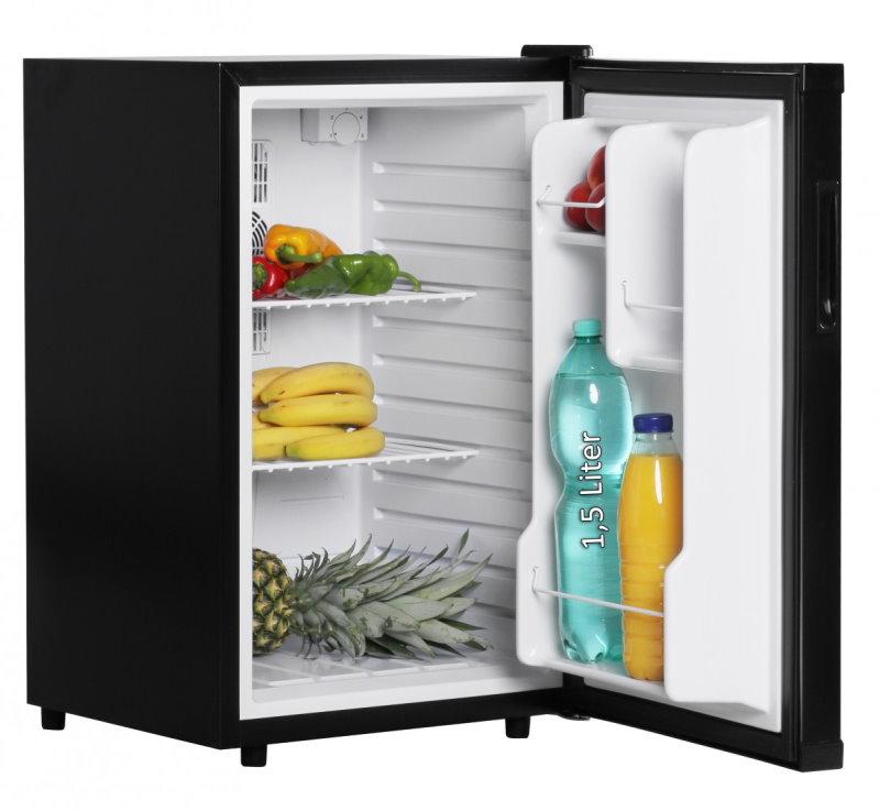 Amstyle minikuhlschrank 65 liter minibar schwarz for Kühlschrank abschlie bar