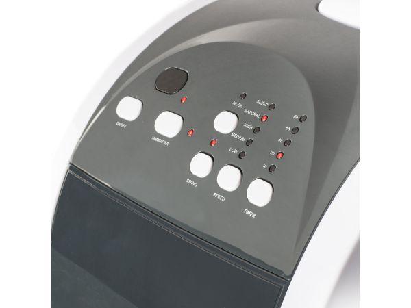 ventilator einstellbarer timer mit signal oszillierend. Black Bedroom Furniture Sets. Home Design Ideas